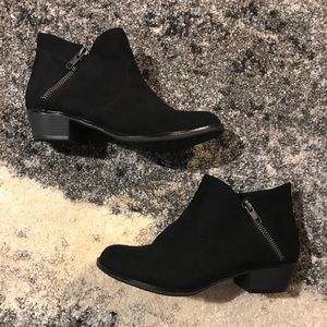 Barely Used Black Ankle Boots, San Francisco